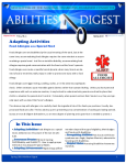 Abilities Digest, Spring 2018 cover