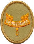 Scout second class rank badge